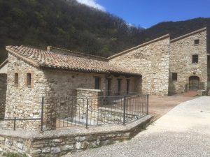 Scorcio del borgo di Palazzo, frazione di Esanatoglia