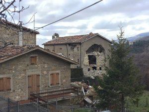 castro montegallo dopo il terremoto