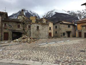 colle di montegallo dopo il terremoto