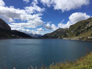 Fedaia lago