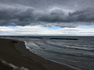 mare temporale porto san giorgio