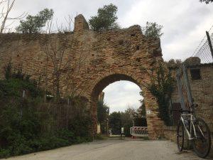 Le mura di Castel San Giorgio