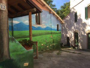 Murales a Braccano
