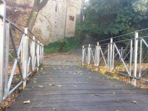 ponte fosso petronilla via cacciona