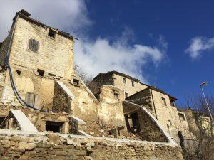 rovine di propezzano di montegallo dopo terremoto