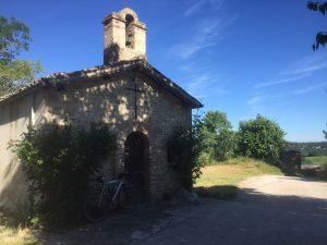 La piccola chiesetta di Serra